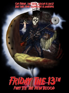 Friday the 13th Part VII Fan Art
